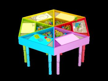 Творческая лаборатория. Стол для детей. Комплектация ...